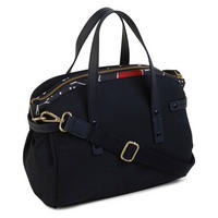 River Street Medium Multi-Compartment Satchel Bag Blue