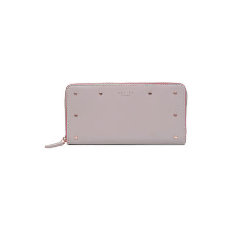 Arlington Street Large Zip Around Matinee Wallet Pink