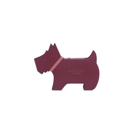 Heritage Dog Small Coin Purse Purple