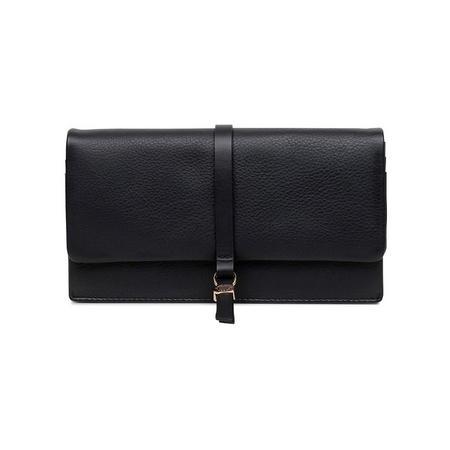 Merton Road Large Foldover Wallet Black