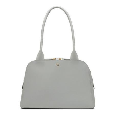 Millbank Medium Zip Top Tote Bag Grey