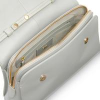 Millbank Medium Flapover Crossbody Bag Grey