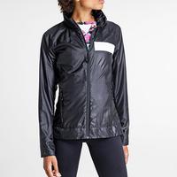 Carrie Windbreaker Jacket Black