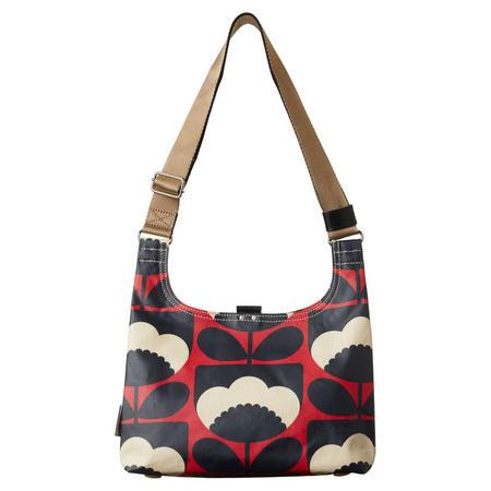 Spring Bloom Poppy Mini Shoulder Bag Red