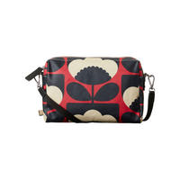 Spring Bloom Poppy Crossbody Bag Red