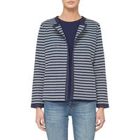 Striped Jacket Blue