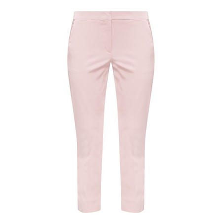 Aegan Cropped Trousers Pink
