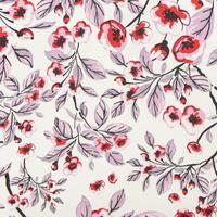 Ario Floral Dress White