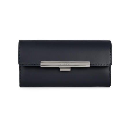 Lily Flap Close Wallet Navy