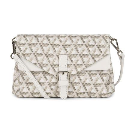 Ikon Small Crossbody Bag White