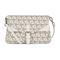 Ikon Small Crossbody Bag White