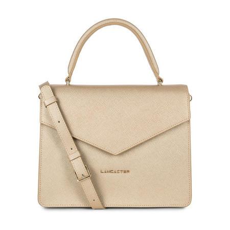 Adeline Satchel Bag Metallic