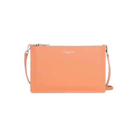 Zip Close Clutch Bag Orange
