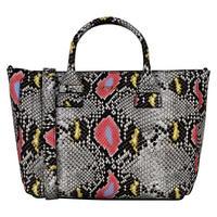 Capri Snake Tote Bag Multicolour