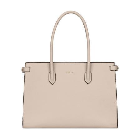 Pin Medium Tote Bag White