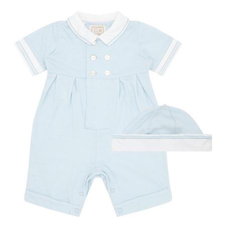 Babies Marcus Romper Blue Blue