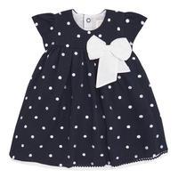 Molly Spotty Dress Navy