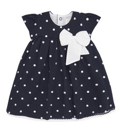 Molly Spotty Dress Navy