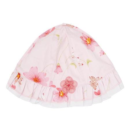 Baby Girls Miriam Floral Hat Pink
