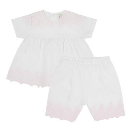 Babies Melinda Floral Two-Piece White