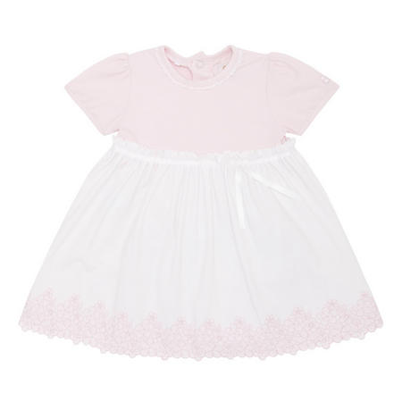 Marcela Embroidered Dress Pink