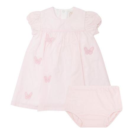 Babies Butterfly Dress Pink