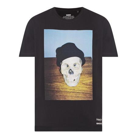 T-Joe Skull T-Shirt Black