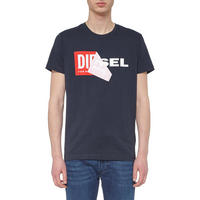 T-Diego Peel-Off Logo T-Shirt Navy