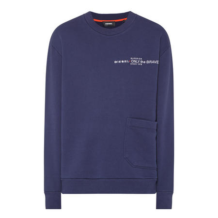 S-Ellis Pocket Sweatshirt Navy