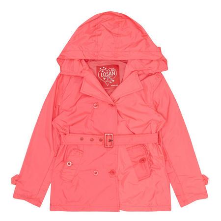 Girls Mac Jacket Pink