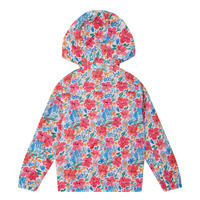 Girls Floral Print Jacket Multicolour
