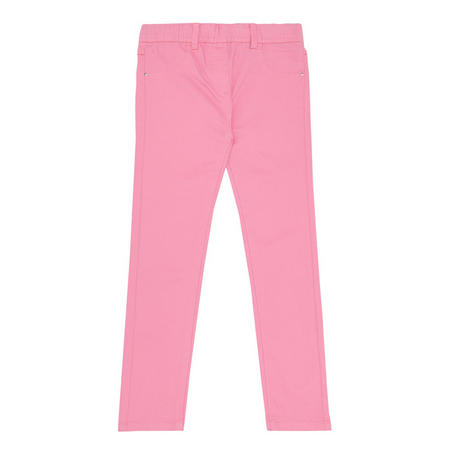 Girls Jeggings Pink