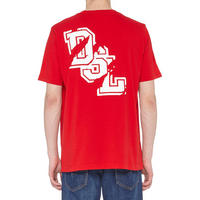 T-Just Cracked Logo T-Shirt Red