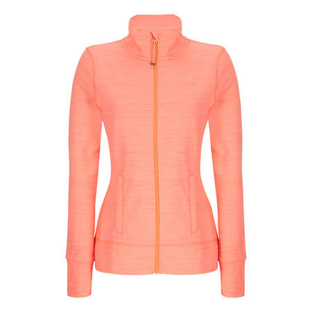 Stay Cosy Active Brushed Maxum Track Top Orange