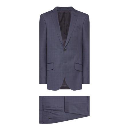 Check Suit Blue