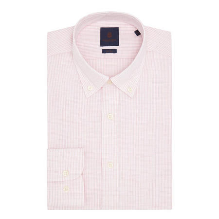 Gingham Shirt Pink