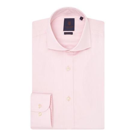 Herringbone Shirt Pink