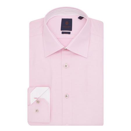 Micro-Pattern Shirt Pink