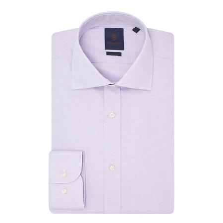 Micro-Pattern Shirt Purple