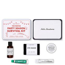 Party Season Survival Kit White