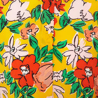 Floral Print Silk Shirt Multicolour