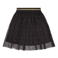Girls Studded Skirt Black