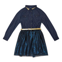 Denim Dress Navy