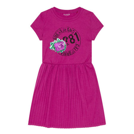 Girls Rose Dress Pink