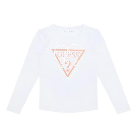 Girls Logo T-Shirt White