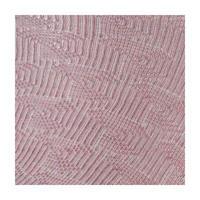 Geometric Pattern Sneaker Socks Pink