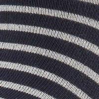 Nautical Shimmer Socks Navy