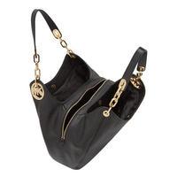 Fulton Leather Tote Bag Black