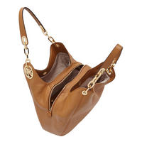 Fulton Leather Tote Bag Brown