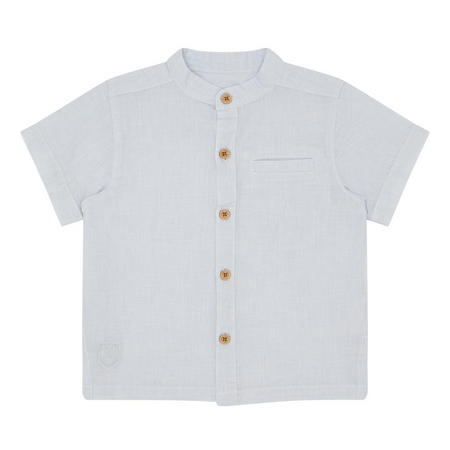 Babies Short Sleeve Shirt Blue